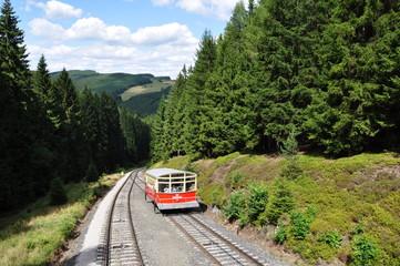 Bergbahn im Schwarzatal / Thüringen