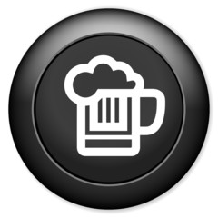 beer sign icon. Alcohol drink symbol