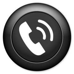 Support symbol, Phone sign icon. Call center