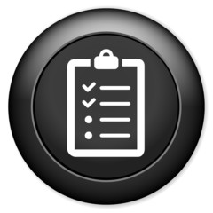 List sign icon. Content view option symbol