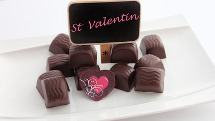 chocolat de St Valentin