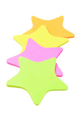 Star Shape Paper Stickers