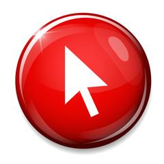 Mouse cursor sign icon. Pointer symbol