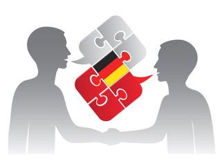 German lessons dialog