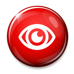 Eye sign icon. Publish content concept. Visibility button.
