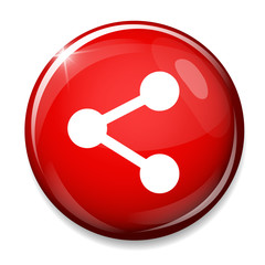 Share sign icon. Link symbol