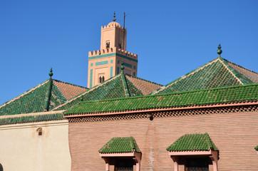 Minareto a Marrakech