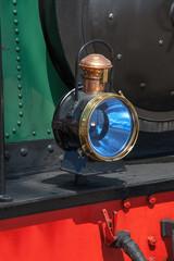 Lanterne sur locomotive à vapeur en Baie de Somme