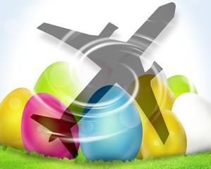 Easter Eggs Festive