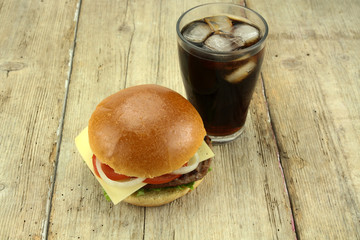 burger et cola