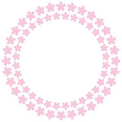 桜 リング 背景