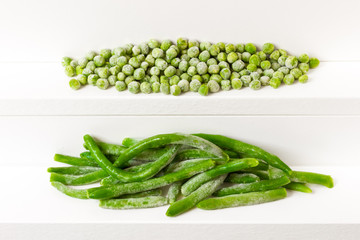 Peas and kidney bean