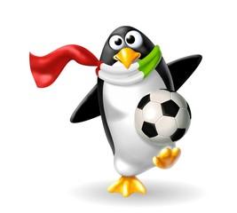 pinguino tifoso
