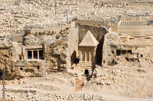 Fotobehang Midden Oosten Tomb of the Zechariah