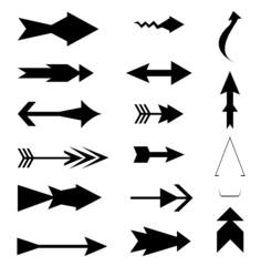 Arrow icon element set, arrow symbol collection
