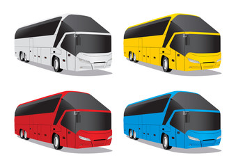 Buses - Illustration
