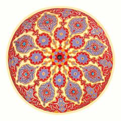 Mosque ceiling art