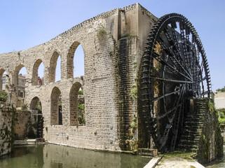 Wasserschöpfrad in Hama
