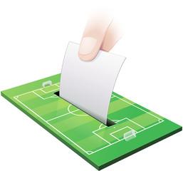 Election dans le football