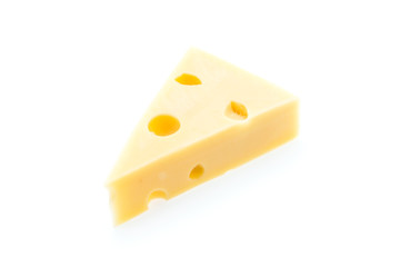 Cheese isolated on white