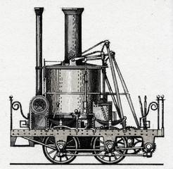 Locomotive LDE – Columbus (Germany, 1835)