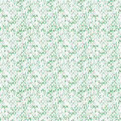 Matrix background with the green symbols. Seamless pattern.