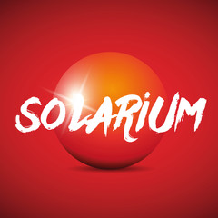 Solarium sign logo