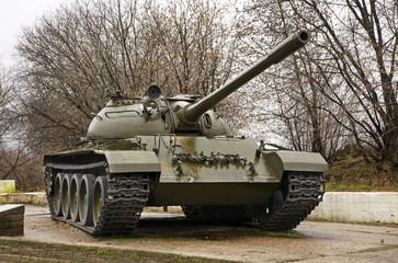 Tank in Kineshma. Ivanovo region. Russia