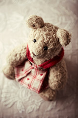 An old teddy bear
