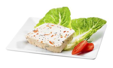 Gemüse Tofu