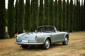 Altes italienisches Cabriolet 60er Jahre