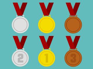 Flat Medals