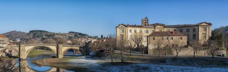 pont et prieuré  de Lavoûte Chilhac