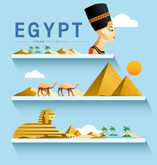 Egypt and Pyramid ,Sphinx ,Destination