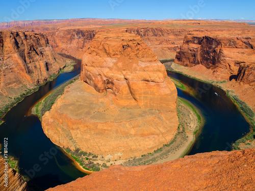Fotobehang Canyon Horseshoe Bend
