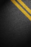 Road asphalt texture with separation lines - 76114674