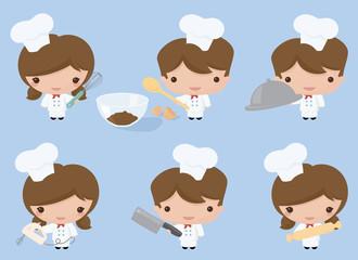 Kawaii Chefs