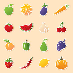 Fruit & Veg Cutouts