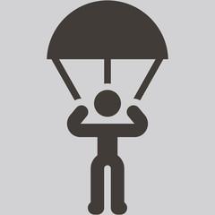 parachute sport icon