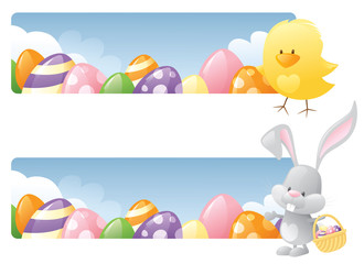 Easter Days Banners