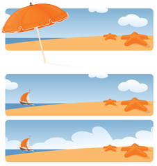 Beachy Banners