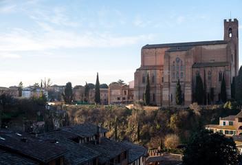 View over Siena, Tuscany, Italy