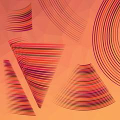red line symbol set