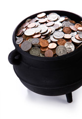 Pot of Gold: Full Of American Coins