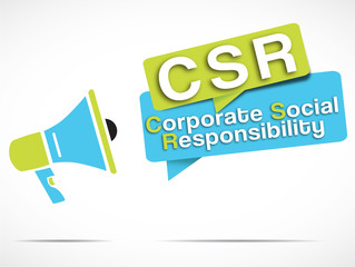 megaphone : corporate social responsibility