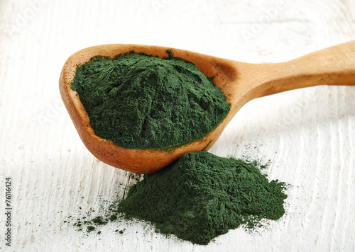 Spirulina algae powder - 76116424
