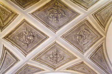 Renaissance ceiling in an old house