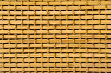 closeup part of handicrafts bamboo rug