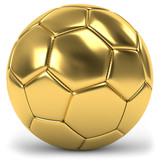 goldener Fussball - 76119805