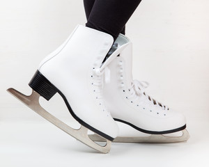 Detail of ice skates